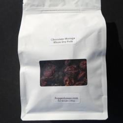Chocolate Moruga Scorpion Dry Pods (100g)